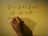 Теоретическая механика - лекция №19 (Сложное движение точки_теорема о сложении ускорений точки при вращательном переносном движе